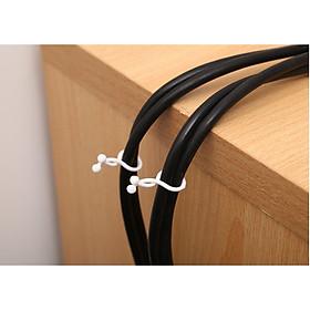 Dây xoắn giữ dây cáp điện, bộ kẹp dây điện xoắn giúp nhà cửa – văn phòng gọn gàng, siêu tiện dụng GD306-KepDDXoan