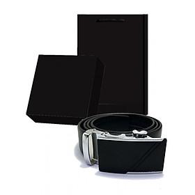 Thắt lưng, dây nịt nam có hộp túi đen làm quà tặng