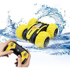 Xe ô tô điều khiển từ xa KAVY lội được nước vượt được mọi địa hình đi được xoay 360 độ, lật 180độ tốc độ cao tần số 2.4 GHZ