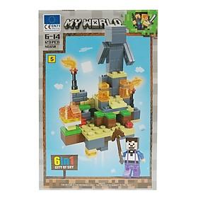 Bộ Xếp Hình - My World - 658 (LI60) - Mẫu 5 (123 Mảnh Ghép)