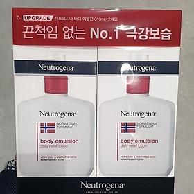 Neutogena norwegian body emulsion 310ml X 2p