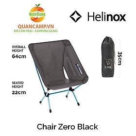 Ghế dã ngoại xếp gọn Helinox Chair Zero