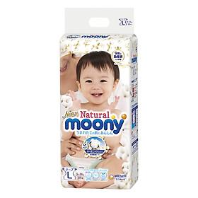 Tã Dán Moony Natural Bông Organic L38 (38 Miếng)