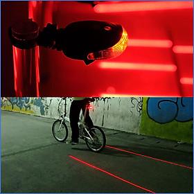 Đèn Hậu Laser Xe Đạp