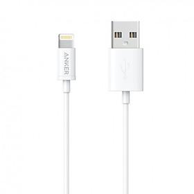 Dây Cáp Sạc Lightning Chuẩn MFi Cho iPhone Anker A7101 0.9m - Hàng Chính Hãng