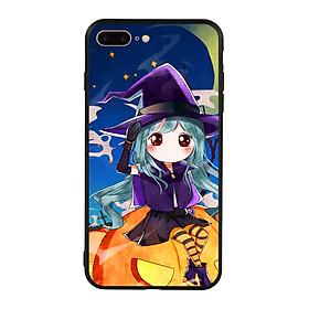 Hình đại diện sản phẩm Ốp lưng Halloween viền TPU cho điện thoại Iphone 7 Plus/8 Plus - Mẫu 04
