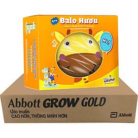 Thùng 36 Sữa Nước Cho Bé Abbott Grow Gold 110ml - Tặng Balo Hươu
