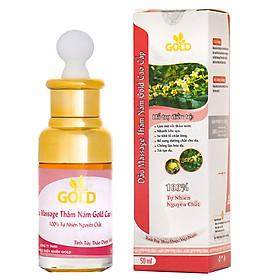 Dầu Massage Thâm Nám Gold Cao Cấp (50ml)