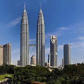 Vé Tham Quan Tháp Đôi Petronas Kuala Lumpur, Malaysia