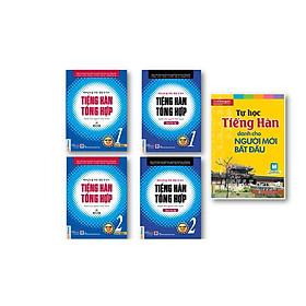 [Download Sách] Combo Tiếng hàn tổng hợp dành cho người việt nam - Bản in màu 2020( Tập 1+2 + bài tập 1+2 ) + kèm Tự Học Tiếng Hàn Dành Cho Người Mới Bắt Đầu kt