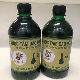 Combo 2  chai Nước Tắm Dao Đỏ cho Trẻ Sơ Sinh và Trẻ Nhỏ