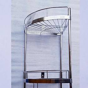 Kệ góc inox 304 (rộng 25cm)_ kệ nhà tắm_ kệ nhà bếp