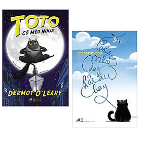 Combo 2 cuốn : Toto - Cô Mèo Ninja + Chuyện Con Mèo Dạy Hải Âu Bay (Tái Bản 2019)