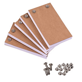 Blank Flip Book Kit with 300 Sheets Animation Paper Flipbook Binding Screws for LED Tracing Light Pad Drawing Sketching