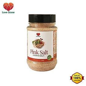 Muối ăn (Pink Salt) Himalaya Love Stone – Theo Tiêu Chuẩn Muối Ăn Bộ Y Tế