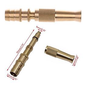 Đầu vòi tăng áp đa năng Vòi phun tăng áp bằng đồng tưới cây ,rửa xe cực mạnh , 3 chế độ đầu vòi