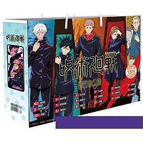 Hộp quà chữ nhật JUJUTSU KAISEN - CHÚ THUẬT HỒI CHIẾN anime mẫu mới 2021