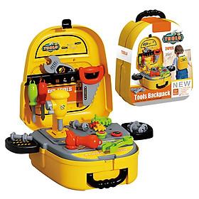 Bộ đồ chơi  cơ khí KAVY  với nhiều dụng cụ sửa chữa cho bé kèm cặp đựng tiện lợi, giúp bé nhận biết dụng cụ và quan sát học hỏi