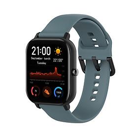 Dây Đeo Thay Thế Cho Đồng Hồ Thông Minh Smart Watch Size 20mm Xiaomi Amafit GTS / Xiaomi Amazfit Bip / Huawei Watch 2 / Garmin Vivomove HR / Samsung Galaxy Watch (42mm) - Dây Trơn - Size Nhỏ