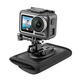 Mount gắn GoPro và Action cam lên Balo hoặc đeo vai Balo Telesin - Phụ Kiện Máy Quay GoPro 9/8/7 (hàng chính hãng) Phụ kiện không bao gồm máy quay phim