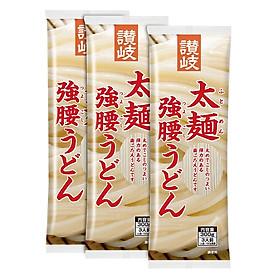 3 Gói Mì Sợi Dày Sanukisisei Udon Nhật Bản (300g x 3)