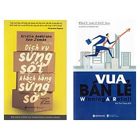Combo Sách Kỹ Năng Bán Hàng: Vua Bán Lẻ + Dịch Vụ Sửng Sốt Khách Hàng Sững Sờ