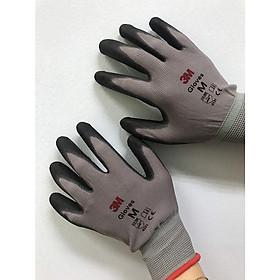 Sét 5 đôi găng tay bảo vệ tay 3M cực tốt, chống cắt 1, màu xám, size M