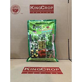 Phân bón hữu cơ sinh học KingCrop, dùng trồng rau, cây ăn trái sạch, an toàn