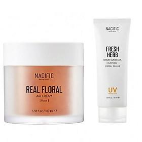 Combo dưỡng da và chống nắng hoàn hảo 1 Nacific