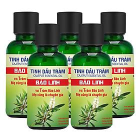 Combo 5 Chai Tinh Dầu Tràm Bảo Linh (30ml/ Chai)