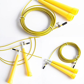 Dây nhảy thể dục nhựa PVC cao cấp có thể tuỳ chỉnh độ dài dây, tối đa 3m-4