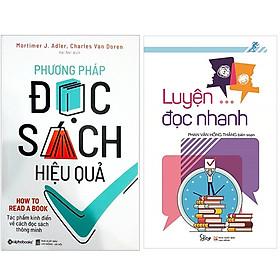 Combo Sách Bí Quyết Luyện Đọc : Phương Pháp Đọc Sách Hiệu Quả + Luyện Đọc Nhanh