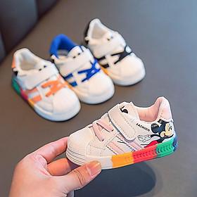 Giày trẻ em dáng thể thao phong cách Hàn Quốc giày cho bé gái bé trai từ 0-4 tuổi siêu nhẹ chống trơn trượt G04