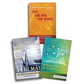 Bộ 3 Cuốn Sách: 14 Bí Mật Gia Tăng Tài Chính Mỗi Ngày + 7 Bước Thiết Lập Kế Hoạch Cuộc Đời + Mẹ À, Cuộc Sống Thật Dễ Dàng