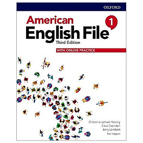 American English File: Level 1: Students Book With Online Practice - 3rd Edition