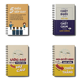 Sổ Kế Hoạch Nhật Ký 365 Ngày Life Planner - Full năm 2021, đủ 12 tháng và 54 tuần, chi tiêu, thói quen made in vietnam