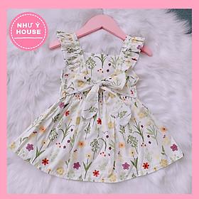 Đầm bé gái 2 dây - đầm hoa cho bé gái Thiết kế của Như Ý House