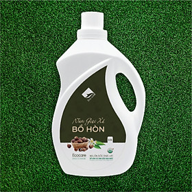 Nước giặt xả hữu cơ Bồ Hòn tinh dầu Hoa Bưởi ECOCARE 2 lít - Bền màu, giữ dáng, làm mềm vải, an toàn da nhạy cảm - Mẫu mới 2020