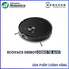 Robot hút bụi lau nhà Deebot Ozmo T8 AIVI - Hàng Chính Hãng