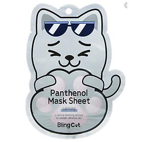 Mặt nạ BLING CAT PANTHENOL MASK SHEET _ CALMING TONYMOLY