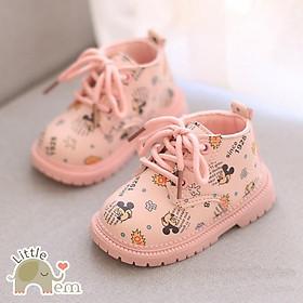 Giày bốt Mickey cho bé gái