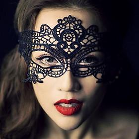 Mặt nạ hóa trang sự kiện bữa tiệc Halloween - Màu đen