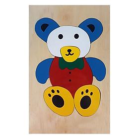 Tranh Ghép Hình Con Gấu Minh Thành