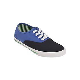 Giày Vải Nữ MIDO'S 79-MD2-BLACK - Đen Xanh Dương