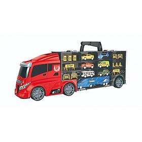 Đồ chơi Xe tải nhiều ngăn - Cứu hỏa (lớn) VECTO 666-03H