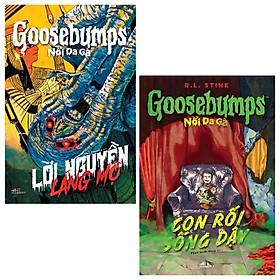 Combo Goosebumps - Nổi Da Gà: Con Rối Sống Dậy Và Lời Nguyền Lăng Mộ (Bộ 2 Cuốn)