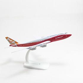 Mô hình máy bay Boeing 747 Original (20cm) Everfly  - Trắng,đỏ
