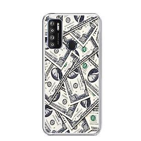 Ốp lưng dẻo cho điện thoại VSMART LIVE 4 - 0355 DOLLAR02 - Hàng Chính Hãng