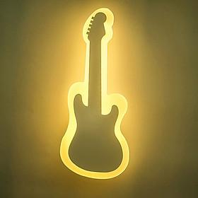 Đèn gắn tường trang trí hiện đại hình cây đàn guitar