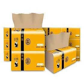 Bộ 15 gói giấy ăn than tre gấu trúc